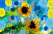 Holley Jacobs Prints - Sunflower Print by Holley Jacobs