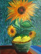 Prasenjit Dhar - Sunflower In A Vase