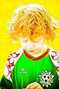 Sunflower Soccer Association Print by Craig Perry-Ollila