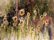 Northern Michigan Paintings - Sunflower Surprise by Sandra Strohschein