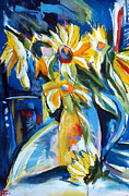 First Art Show - Sunflower Vase by John Gholson