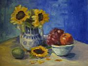Sharon Franke - Sunflowers and Fruit