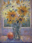 Bart DeCeglie - Sunflowers and peach.