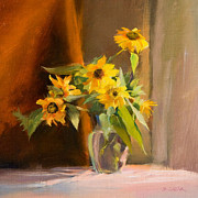 Deborah Lazar - Sunflowers Before...