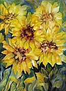 Carolyn Legrand Art - Sunflowers by Carolyn LeGrand