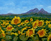 Liliane Fournier - Sunflowers
