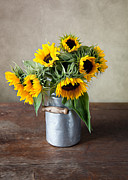 Charming Art - Sunflowers by Nailia Schwarz