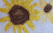 Sunflowers Tapestries - Textiles - Sunflowers by Pam Geisel