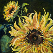 Brilliant Paintings - Sunflowers by Pati Pelz
