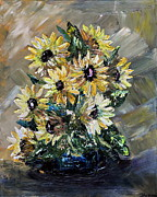 Sunflowers Print by Teresa Wegrzyn