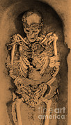 Skeletal Framed Prints - Sunghir Remains Framed Print by Science Source