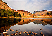 Langdale Framed Prints - Sunlight on the Fells Framed Print by Trevor Kersley