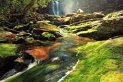 Adam Jewell - Sunlight Rainbow Falls