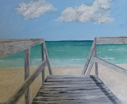 Emerald Coast Originals - Sunny Day at Blue Mountain Beach II by John Terry