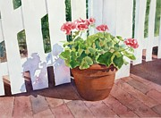 Bobbi Price - Sunny Day Geraniums