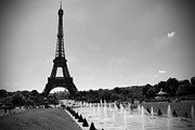 The Eiffel Tower Prints - Sunny Day in Paris Print by Kamil Swiatek