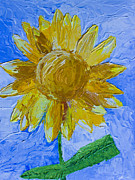 Heidi Painting Posters - Sunny Poster by Heidi Smith