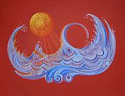 Sunny Waters Print by Shana Chimera Kai