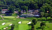 Sunnybrook Golf Club Aerials By Duncan Pearson Originals - Sunnybrook Golf Club 398 Stenton Avenue Plymouth Meeting PA 19462 1243 by Duncan Pearson