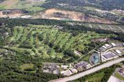 Plymouth Meeting Aerials Prints - Sunnybrook Golf Club Golf Course Print by Duncan Pearson