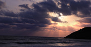 Saurabh Shenai Metal Prints - Sunrays from heaven Metal Print by Saurabh Shenai