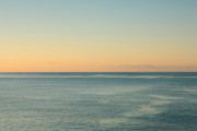 Immense Prints - Sunrise and serene ocean Print by Gaspar Avila