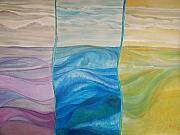 Going Green Originals - Sunrise and Sunset at the Sea by Ida Hes