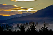 Sunrise - Sunset - Clouds And Storms - Sunrise and Valley Fog by Albert Seger