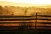 Antietam Photos - Sunrise at Antietam by Brian M Lumley