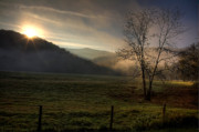 Boxley Valley Prints - Sunrise at Big Hollow Print by Michael Dougherty