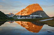 Adam Jones and Photo Researchers - Sunrise at Glacier National Park