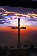 Religious Prints Photos - Sunrise at Pretty Place by Rob Travis