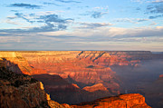 The Grand Canyon Prints - Sunrise At The Grand Canyon Print by Heidi Smith