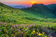 Balkan Mountains Photos - Sunrise behind Goat Wall by Evgeni Dinev