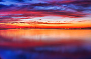 Framedart Prints - Sunrise Earth Ft DeSoto Print by Scott Helfrich