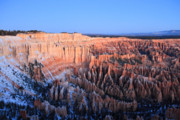Hammer Art - Sunrise glow in Bryce Canyon by Pierre Leclerc