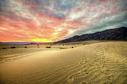 Sand Dune Posters - Sunrise In National Park Poster by Neil Kremer