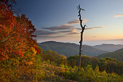 Scenic Drive Photo Posters - Sunrise in Shenandoah National Park Poster by Pierre Leclerc