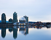 Telus Prints - Sunrise in Vancouver Print by Marion McCristall