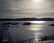 Sunrise Lake Pleasant Print by Arne Hansen