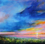 Storm Clouds Paintings - Sunrise Magic by Toni Grote