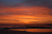 Lbi  Photographs Prints - Sunrise Ocean 16 Print by Joyce StJames