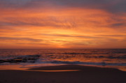 Lbi  Photographs Prints - Sunrise Ocean 17 Print by Joyce StJames