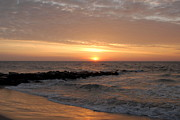 Lbi  Photographs Prints - Sunrise Ocean 74 Print by Joyce StJames