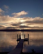 Helen  Campbell - Sunrise on Hood Canal