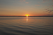 Sunrise On Seneca Lake Print by William Norton