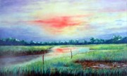 Judy Pearson - Sunrise on the Creek