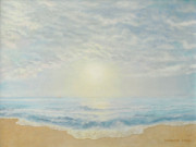 Bethany Windham Engle Art - Sunrise on The Gulf by Bethany Windham Engle