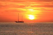 Sunrise On The Sea Of Cortez Print by Roupen  Baker