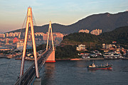 Y120831 Art - Sunrise On Yeosu, South Korea by Images from around the world